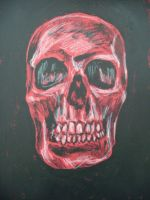 The red skull by Twimper