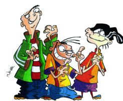 Ed, Edd and Eddy by MikeES