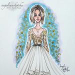 Hannah Marin Fashion Illustration by angelaaasketches