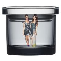 Shrunken Victoria Justice and Selena Gomez in Jar! by randomstuff126