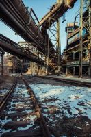 Steel refinery by DeviCrosis
