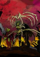 Kerrigan Star Craft Colored by Huntinghorn