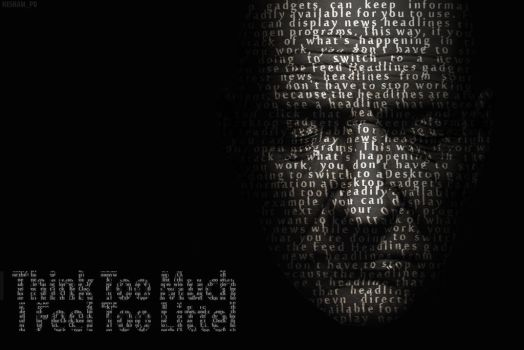 I THINK TOO MUCH by hesham-pd