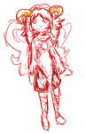 Aradia Doodle by TheAnimeChicki