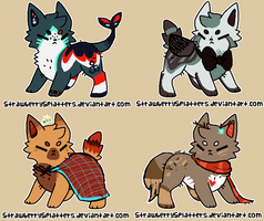 Adoptables [closed] by Feathers-Adopts