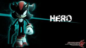 Shadow Wallpaper +Hero Version+ by Hyperchaotix