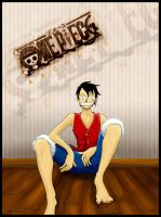 Luffy by arconax