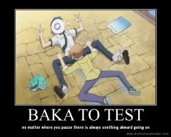 baka to test by usagilover1