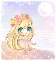 Sparkling Beach by mochatchi