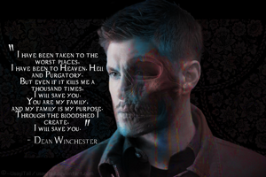 {Supernatural} Dean Winchester's will by UsagiTail
