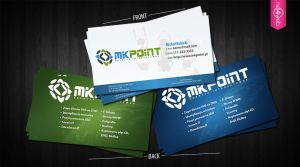 MKPoint.pl Business Cards by JestemEjmi