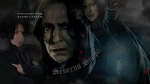 Severus Snape Wallpaper by grednforgesgirl
