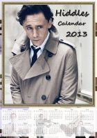 Tom Hiddleston - Calendar 2013 - No.1. by LuluDarling