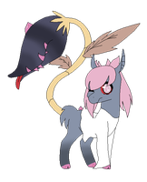 Diancie based hellspawn adopt OPEN by Fluffomaru