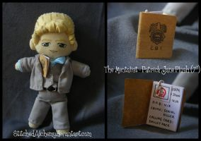 The Mentalist: Patrick Jane Plush [COMMISSION] by StitchedAlchemy