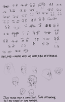 Lesson 4 - eyes and people by ancalinar