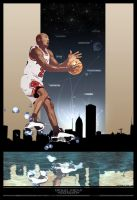 Michael Jordan - Legendary by urbankuruptor