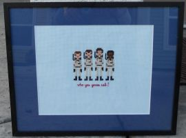 Ghostbusters Framed by Joce-in-Stitches