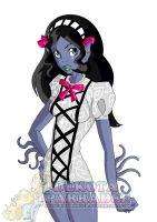 Monster High OC - Sophie Fathom by Chibi-Warmonger