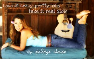 Colbie Caillat Background by SingWriteDraw