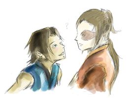 zuko and sokka older by darkenight21