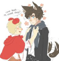 [Sherlock] Jawn the Red Riding Hood by Zashache