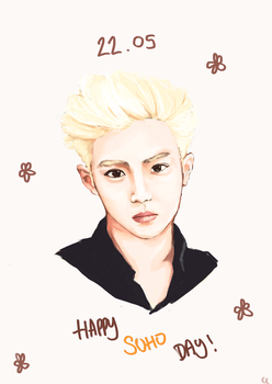 happy suho day by rolling-cat