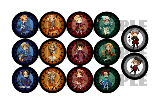 APH : Cardsverse Canbadges by glaceau