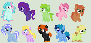 Moar Foals! by MagicalAdoptables