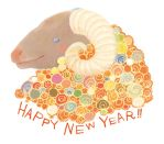 New year sheep by karama-wari