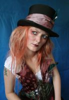Lady Mad Hatter Portrait 1 by mizzd-stock