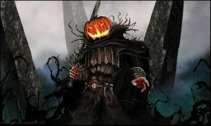 Mad King's Hallowe'en by Artshardz