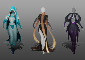 (CLOSED) - Female Outfit Adoptable Set #005 by Timothy-Henri