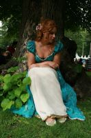 Under a Tree 02 by MarjoleinART-Stock