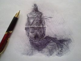 work in progress of assassin's creed 3 by Sabriiistrash