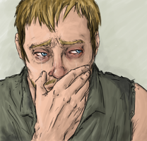 TheWalkingDead : DARYL's TEARS by LadyNorthstar