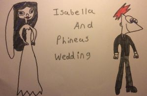 Isabella And Phineas Wedding by FrankWick