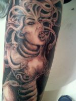 Medusa by TwoToneTattoo