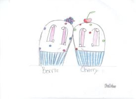 Berrie and cherry by mandymini
