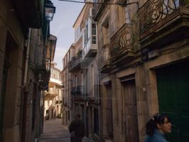 Jewish district, Galicia Spain by Adhayra