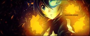 Black rock shooter Signauture by janisar22