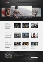 Silence - Rounabout Homepage by m-themes
