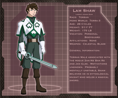 Lam Shaw: Profile by Glee-chan