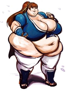 Super Size Kasumi Commission by TheAmericanDream
