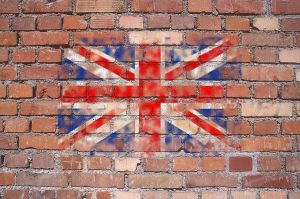 British Flag Graffiti by HotDogVamp