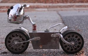 Turfer - Robot bike by adoptabot