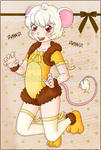 WA :: Mousy Lion by Tami6677