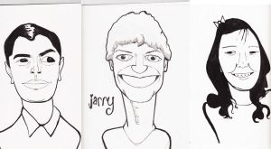Caricatures by zacimag