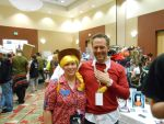 My First picture with Chuck Huber by SolarGear079