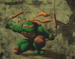 Michaelangelo by iamjamesporter